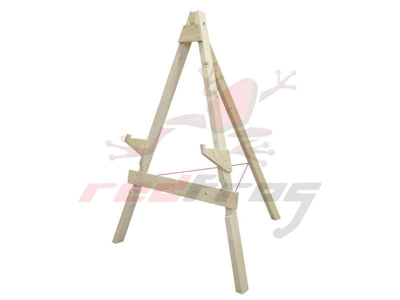 Wood target stand leg small for targets