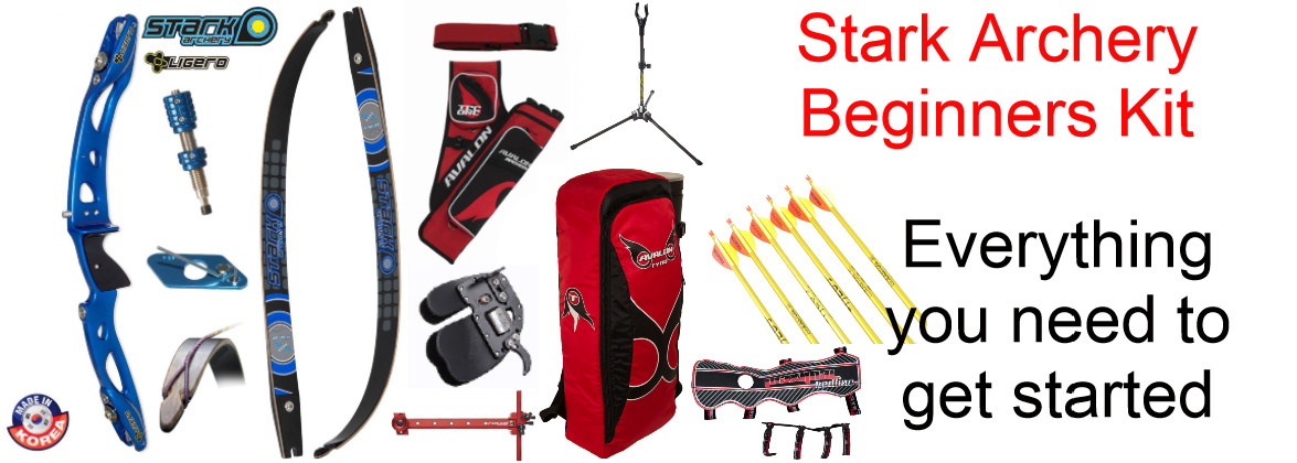 Adult archery beginners kit